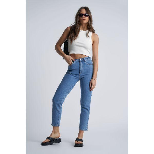 High slim Georgia jeans