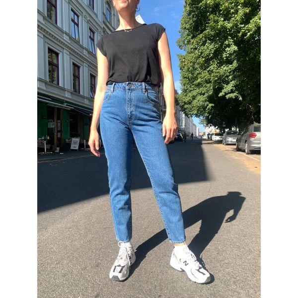 High slim Austin blue jeans