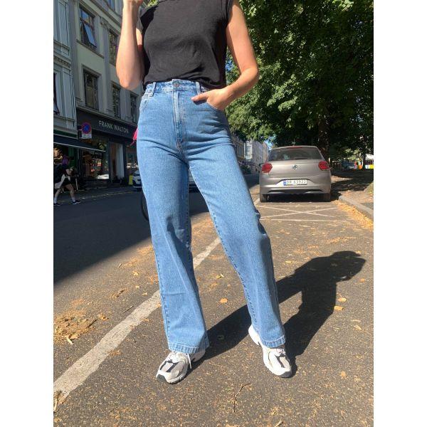 High & wide Debbie jeans