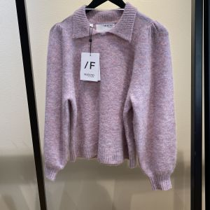Sia-Louisa Knit Polo Pink