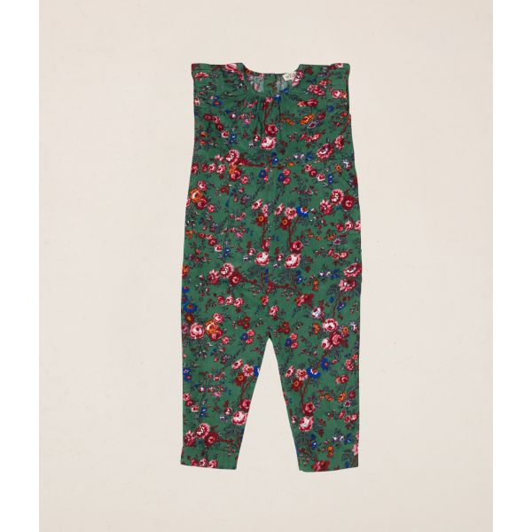 byTiMo - JUMPSUIT BABY CORD WILDFLOWERS