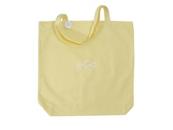 Strikkenett - Egostrikk Lys gul