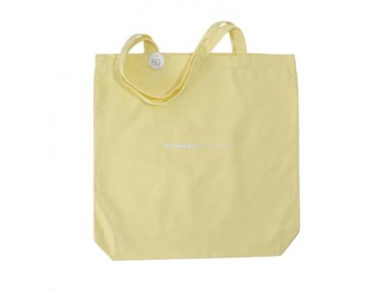 Strikkenett - Strikkedronning Lys gul