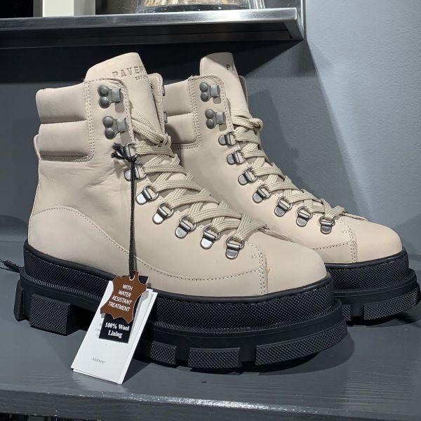 Logan Nubuck Wool Boots