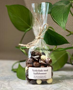 Sjokolade med kaffebønner 100 gram