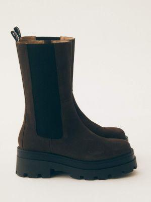 Asta High Boot Brown