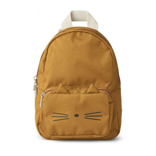 LIEWOOD - SAXO MINI BACKPACK CAT GOLDEN CARAMEL