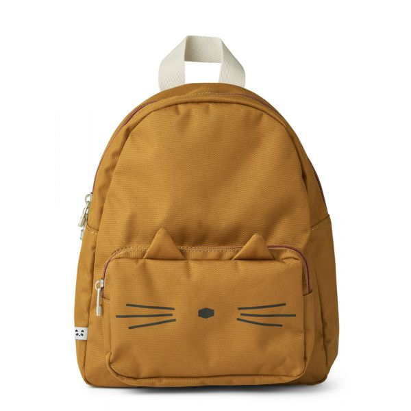 LIEWOOD - ALLAN BACKPACK CAT GOLDEN CARAMEL