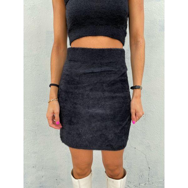 Kristina Knit Skirt - Black