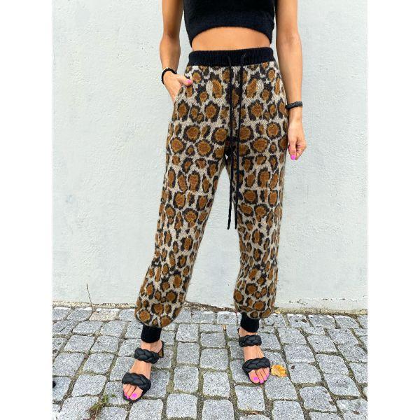 Rhea Knit Pants - Dijon Comb