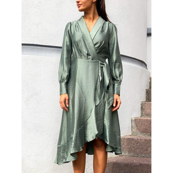 Iza Maxi Dress - Army