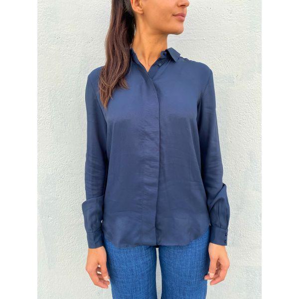 Arabella Odette ls shirt - Dark Sapph