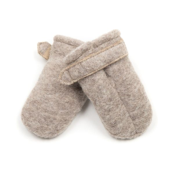 HUTTELIHUT - POOHFY BABY MITTS WOOL CAMEL