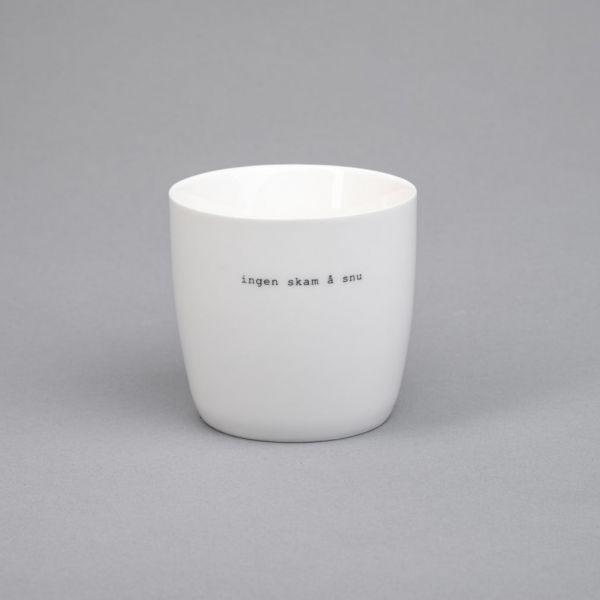 Krus hvit «ingen skam å snu»