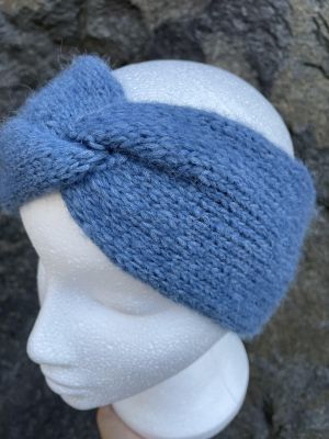 Twist pannebånd - blå dame