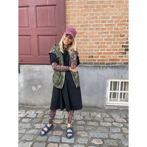 ANNIE winter mesh blouse
