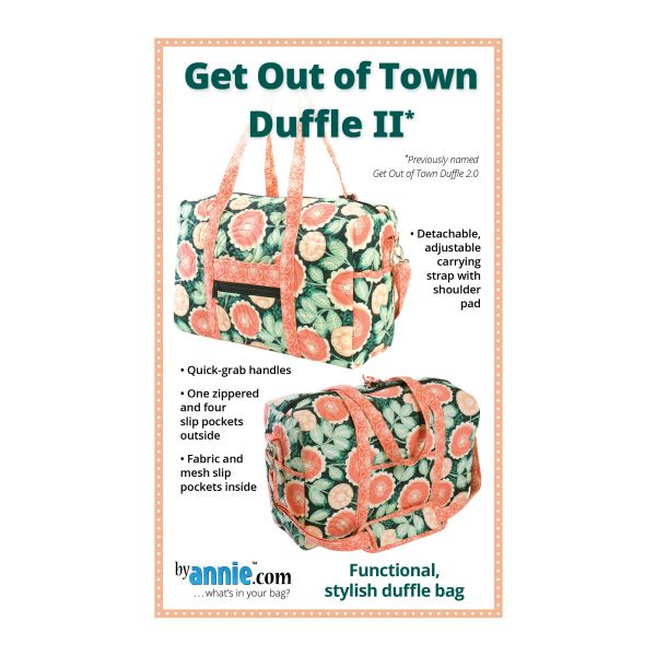 Get out of town duffle II