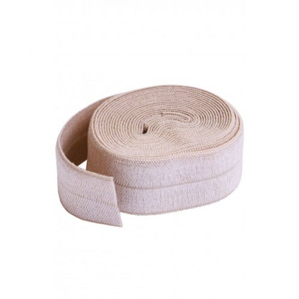 Fold over elastic natural