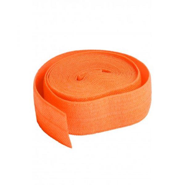 Fold over elastic oransje (pumpkin)