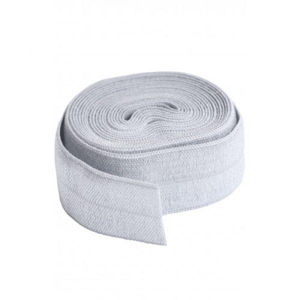 Fold over elastic grå (pewter)