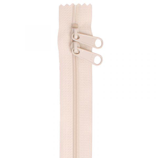 Glidelås elfenben (Ivory) 30 inch
