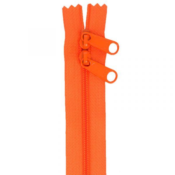 Glidelås oransje (pumpkin) 30 inch