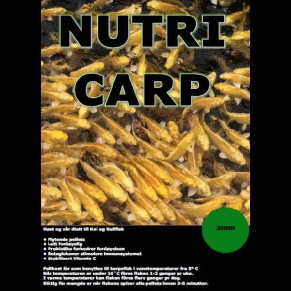 Nutri Carp 3mm 5kg - høst / vårfòr