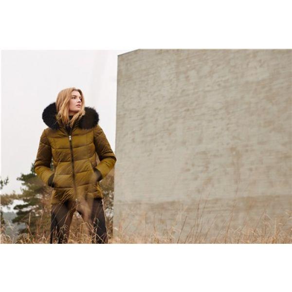 Frandsen jakke med imt pels 353-12590-871