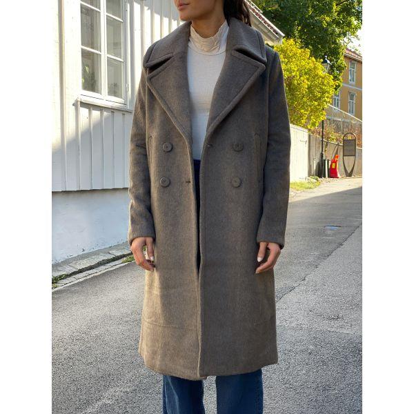 Vicana Wool Coat - Falcon