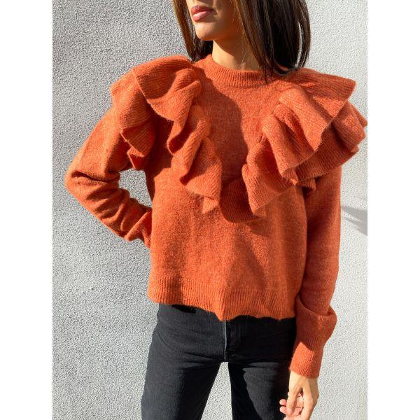 Chura Knit Pullover - Chutney