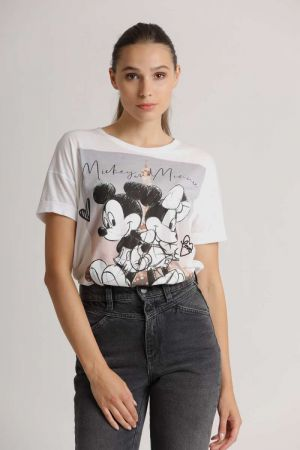 Disney Mickey&Minnie Paris Tee