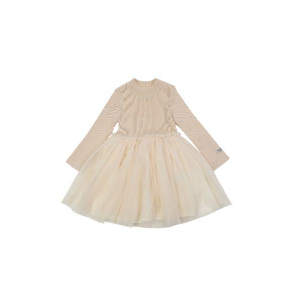 DONSJE - LOTUS DRESS WARM WHITE