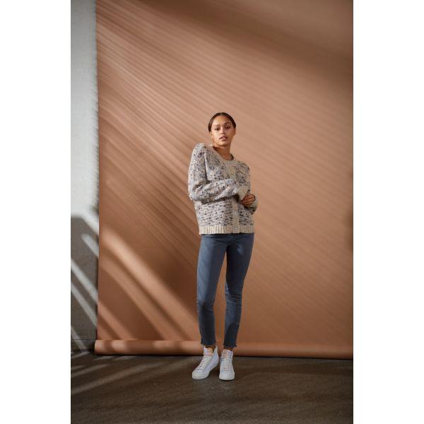 PZEMMA Jeans Grey skinny Leg