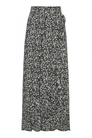 Milly Long Skirt Blue/Blk