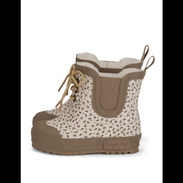 Støvler - Konges Sløjd Thermo boots solid - Milk Tank