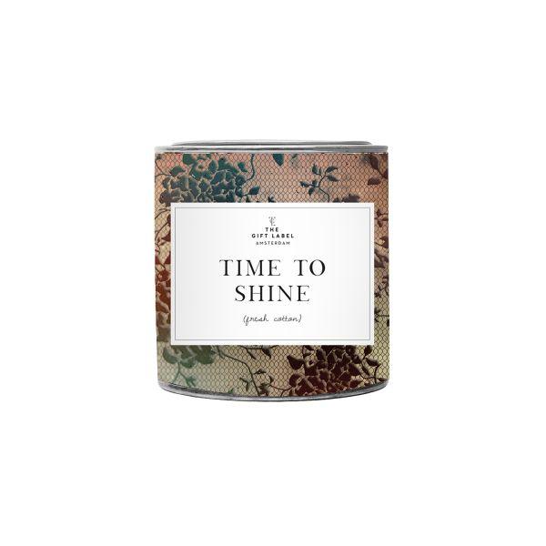"Candletin ""Time to shine"""