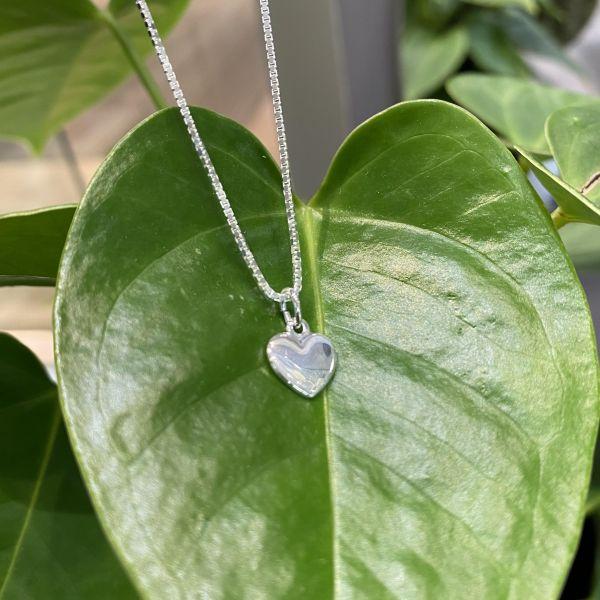 Barnekjeder - Lite sølv hjerte