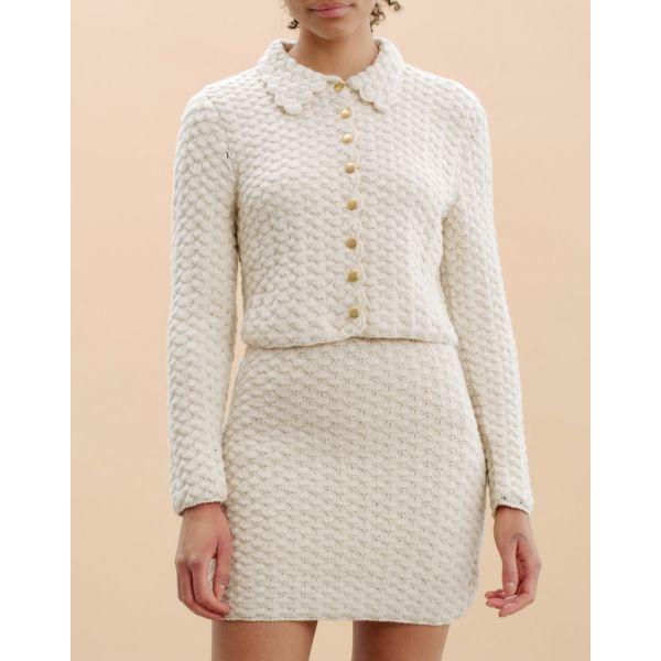 Wool Crochet Jacket - Vintage