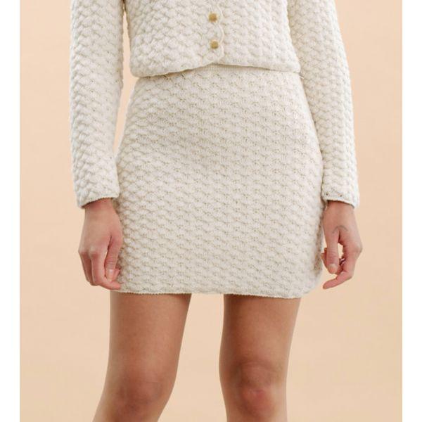 Wool Crockhet Skirt - Vintage