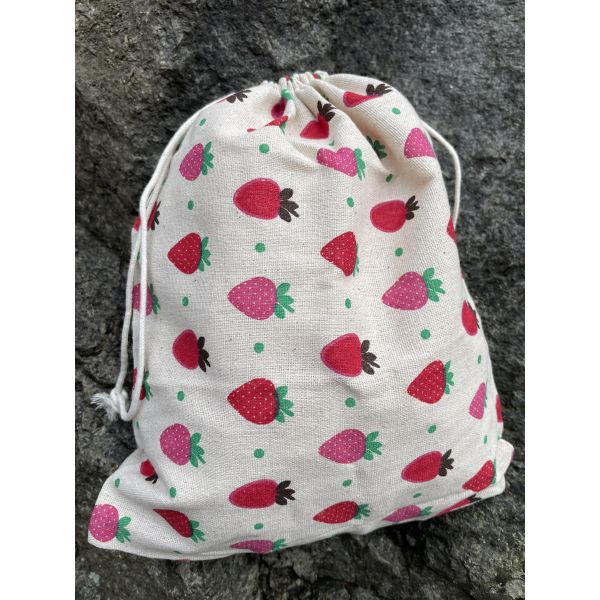 Prosjektpose Jordbær - Large