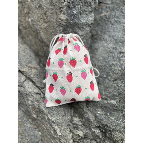 Prosjektpose Jordbær - medium