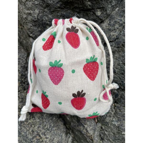 Liten oppbevarings pose - Jordbær
