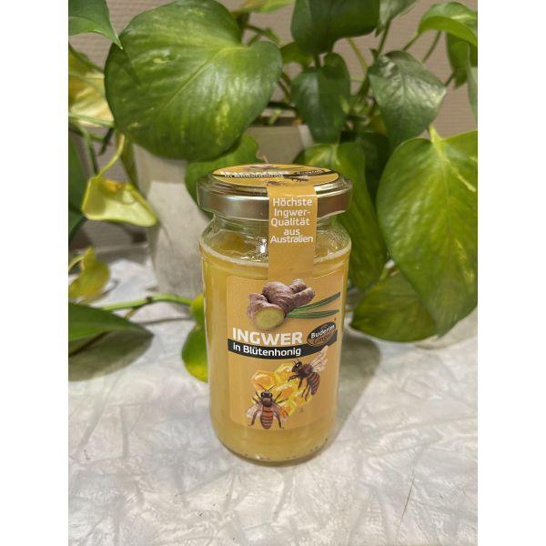 Honning med ingefær 250 gr