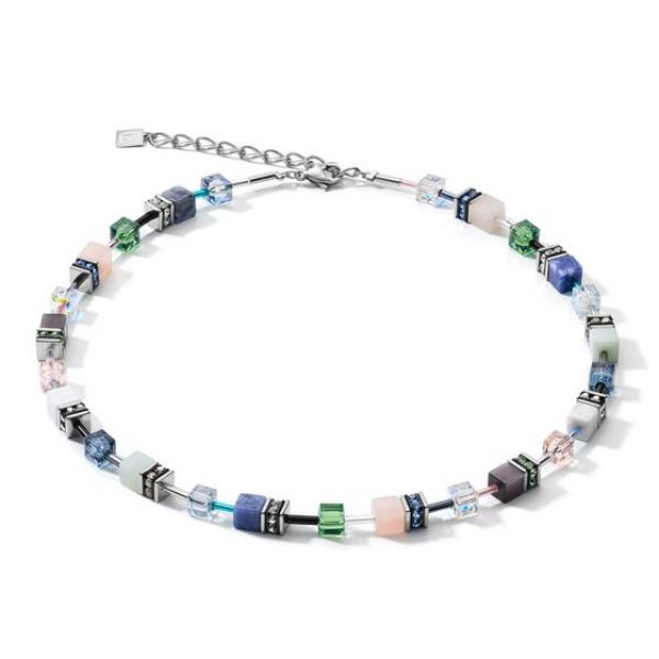 GEOCUBE Blue/Green Necklace (Special Edition)