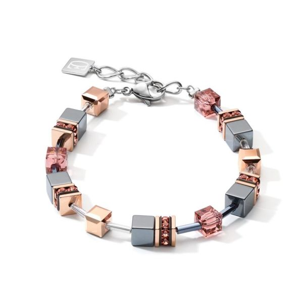 GEOCUBE Antique Pink Necklace
