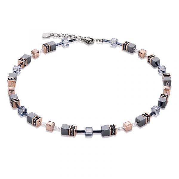 GEOCUBE Ice Blue Necklace