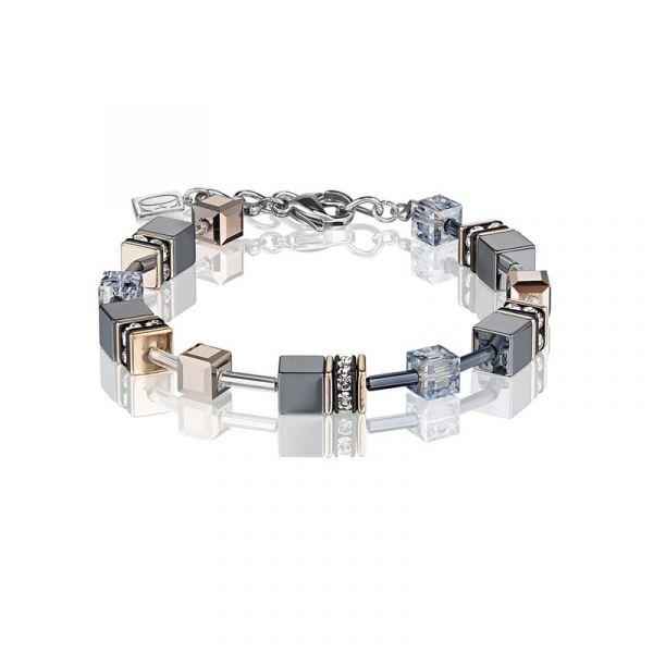 GEOCUBE Ice Blue Bracelet