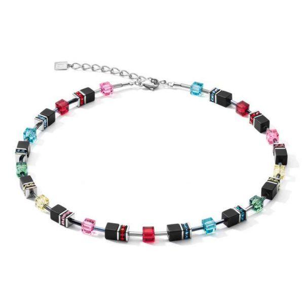 GEOCUBE Matt Rainbow Necklace
