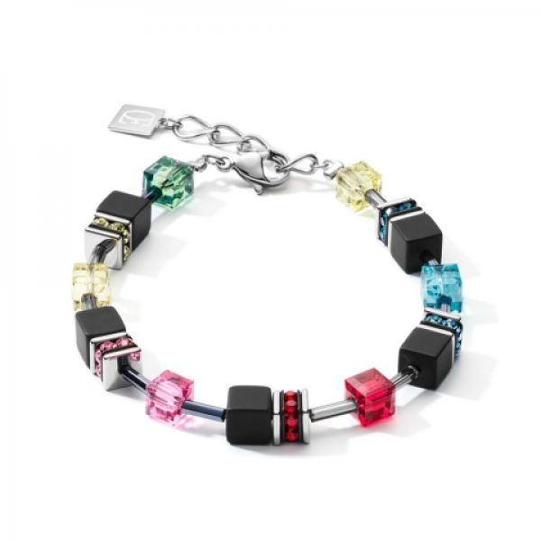 GEOCUBE Matt Rainbow Bracelet