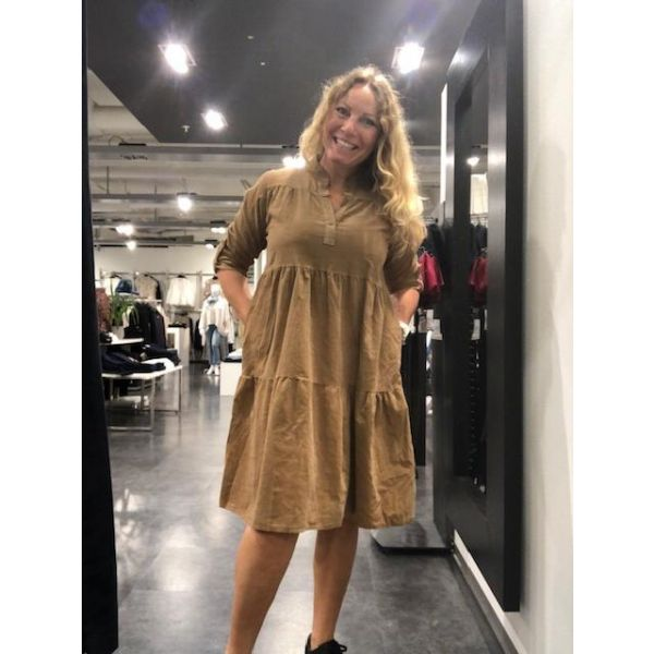 Pepper cord babydoll kjole